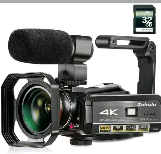 Ultra 4K video camera with wifi